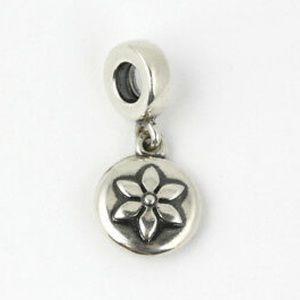 Pandora Breast Cancer Lucerne Flower Charm